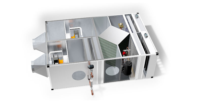 CAREL solution for ventilation applications